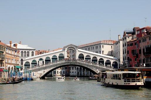 Rialto Bridge, Venice, Italy, St Mark's Square