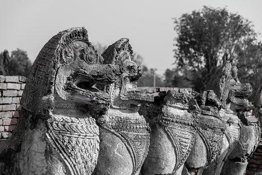 Statue, Temple, Buddha, Religion, Buddhism, Asia