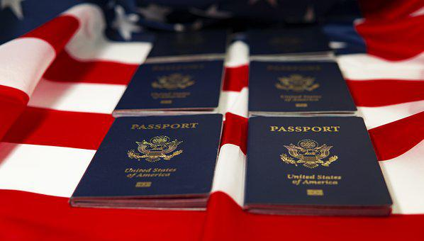 Usa, Passport, Flag, Patriot, Immigration, Citizenship