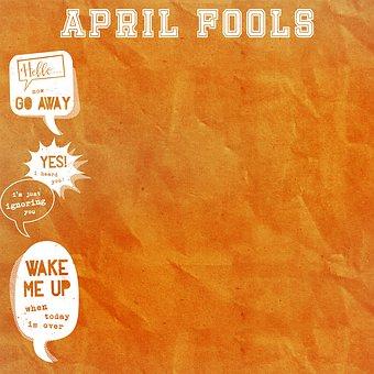 April Fools Day Background, April 1St