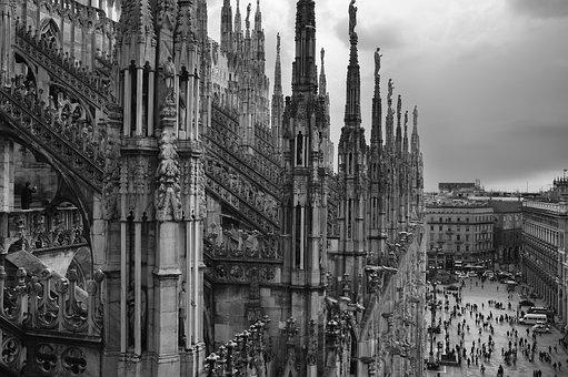 Duomo Di Milano, Minaret, Duomo, Milan, Architecture