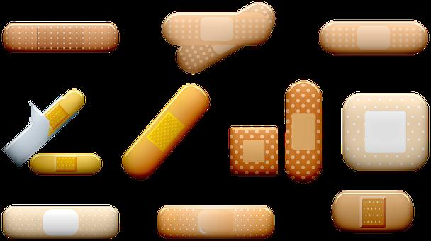 Bandage, Band-aid, Injury, Wound, Gauze, Medical
