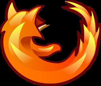 Firefox, Fox, Browser, Logo, Icon, Symbol, Red, Orange