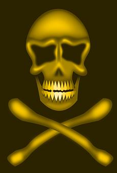 Bones, Skull, Death's Head, Skull And Crossbones
