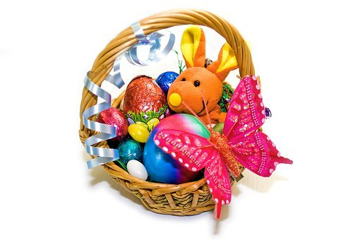 Easter, Osterkorb, Easter Eggs