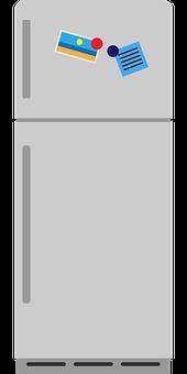 Fridge, Kitchen, Refrigerator, Home, Modern, Interior