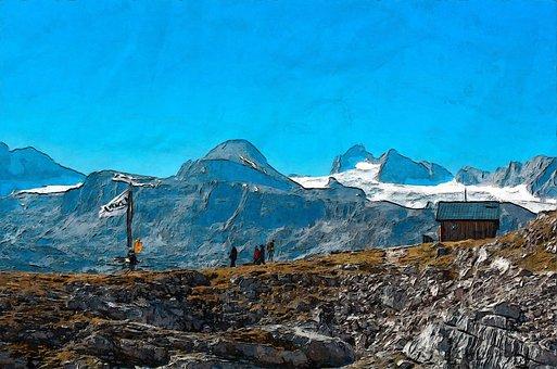 Dachstein, Krippenstein, Outdoor, Mountain, Weather