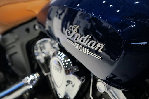 Indian Scout, Eicma, Logo, Tank, Moped, Motorcycle