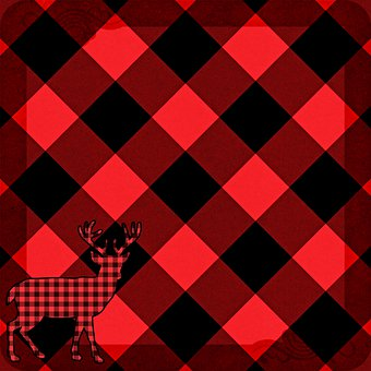 Buffalo Plaid, Plaid, Lumberjack Pattern, Background