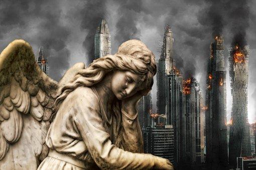 Fantasy, Woe, Sorrow, Grief, Misery, Angel, Regret