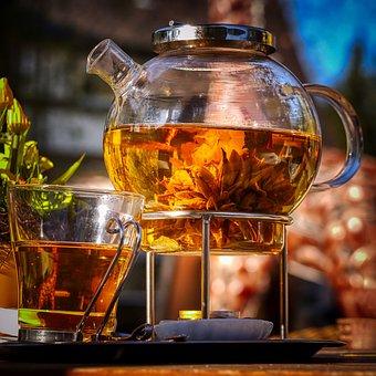 Tee, Teapot, Glass Jug, Drink, Hot, Tea Ceremony, Pot
