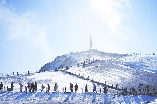 Heilongjiang, Tianchi, Changbai Mountain, The Crater