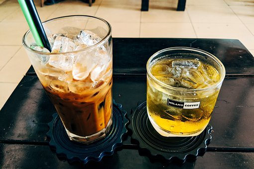 Coffee, Vietnamese, Iced Coffee, Glass, Vietnam