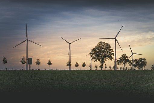 Wind Power Plant, Pinwheel, Wind Power, Windräder