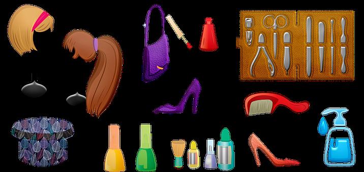 Women's Accessories, Wigs, Nail Polish, Manicure
