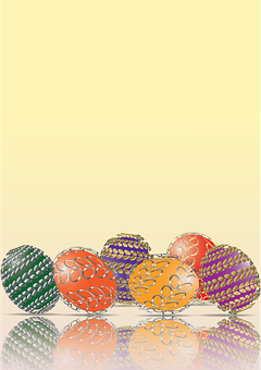 Easter, Eggs, Color, Spring, Background
