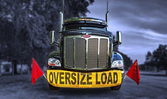 Oversize Load, Oversized Load, Oversized, Huge, Big
