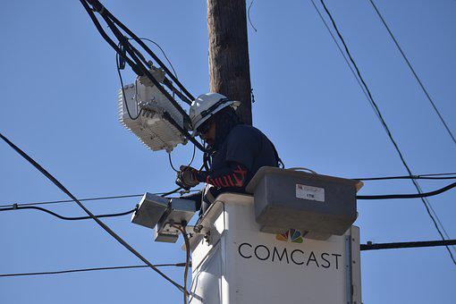 Cable Man, Technician, Comcast, Xfinity, Cable Tv