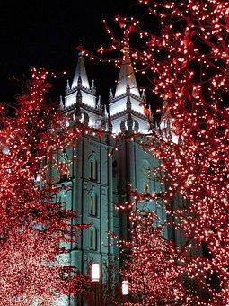 Temple, Christmas, Church, Religion