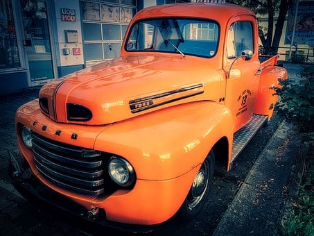 Ford, Truck, Oldtimer, Auto, Old, Classic, Automotive