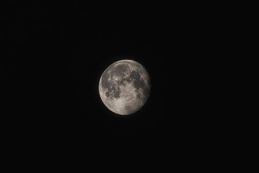 Moon, Nature, Astronomy, Full Moon, Sky