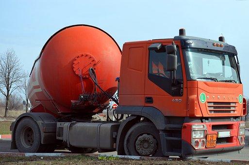 Truck, Tanker, Fuel, Driver, Diesel, Gas, Gasoline