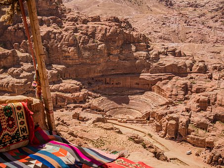 Petra, Jordan, World Heritage, Culture, Theater