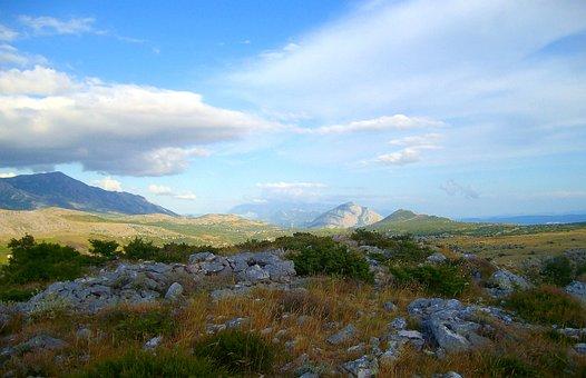 Landscape, Nature, Mountains, Stones