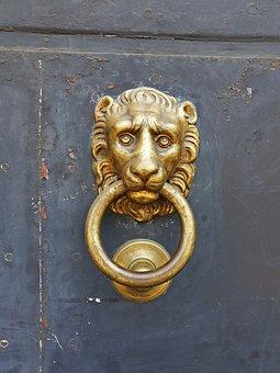 Doorknocker, Metal, Input