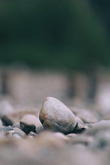 Nature, Bank, Stone, Beach, Background, Sea, Landscape