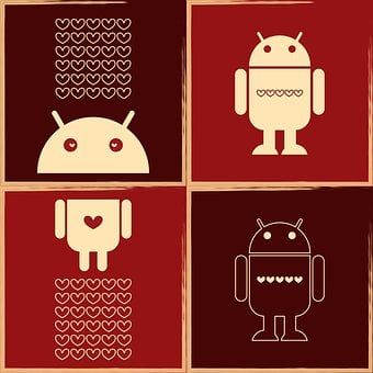 Editorial, Robot Icon, Android Inspired, Os Union