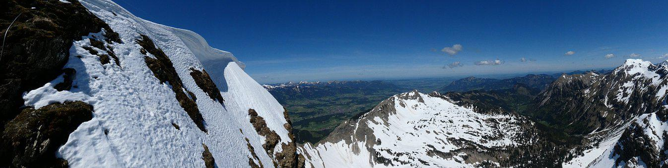 Photo, Shs, Landscape, Mountains, Snow, Nature, Alpine
