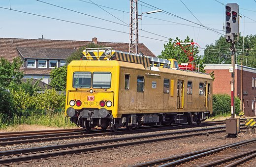 Railway Service Vehicle, Railcar, Revision, Catenary