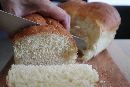 Bread, Brioche, Tender, Cut, Slice, Food, Soft, Fresh