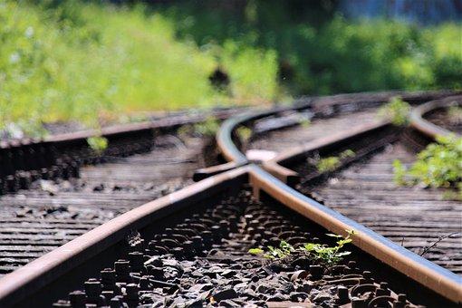 Rails, Soft, Gleise, Railway, Rail Traffic, Junction