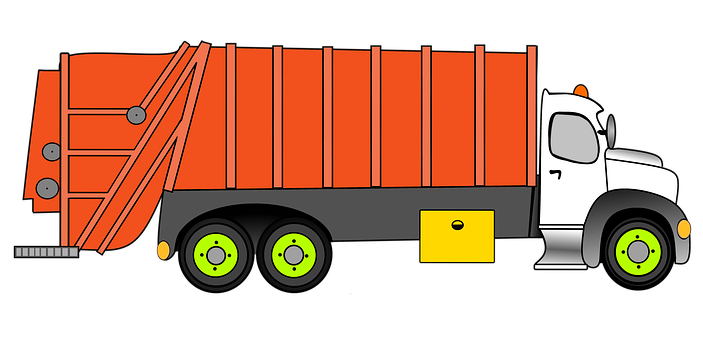 Garbage, Garbage Car, Truck, Waste Press