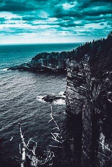 Ocean, Roche, Water, Lighthouse, Nature