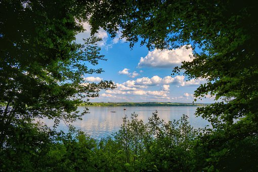 Lake, Ammersee, Water, Landscape, Nature