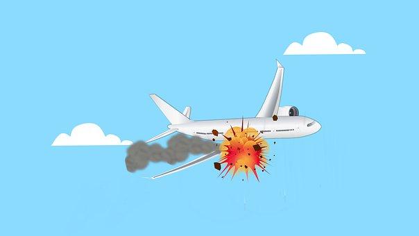 Airplane, Crash, Accident, Plane, Air, Explosion