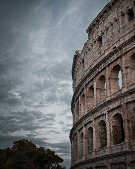 Colosseum, Rome, Italy, Tourism, Architecture, Romans