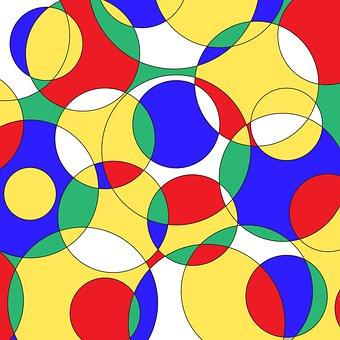 Abstract Background, Digital Paper, Mondrian, Bauhaus