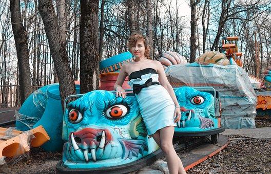 Amusement Park, Big Top, Circus, Clowns