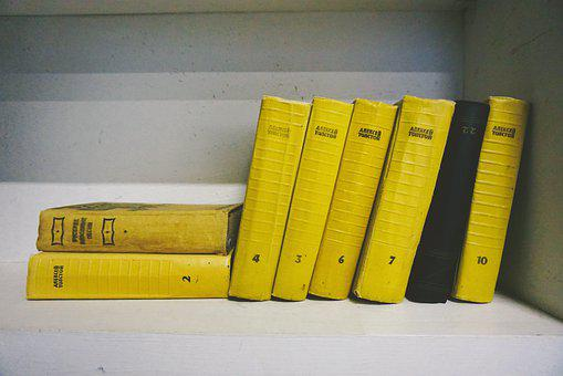 Yellow, Book, Bookshelf, Home, House, Shelf, Reading