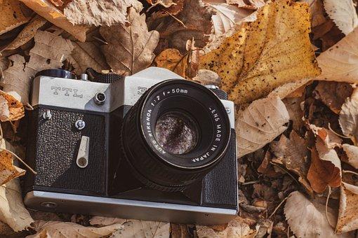 Zenit, Camera, Photo Camera, Vintage, Old, Retro, Lens
