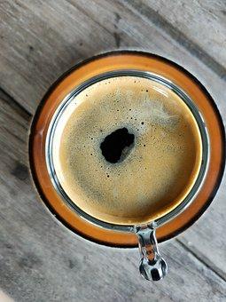 Espresso, Coffee, Black, Drink, Cup, Cafe, Roasted
