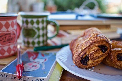 Breakfast, Pause, Croissant, Good Morning, Alimentari
