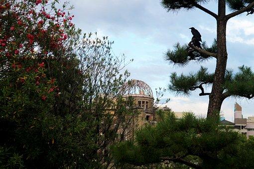 Japan, Hiroshima, Dome, Crow, Dark, Hell