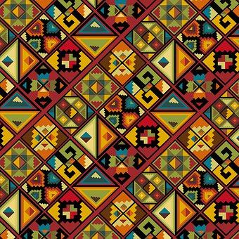African, Digital Paper, Moroccan Pattern, Tiles, Ethnic