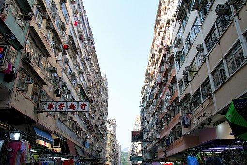 Hongkong, Apartment, City, Urban, Hk, Building