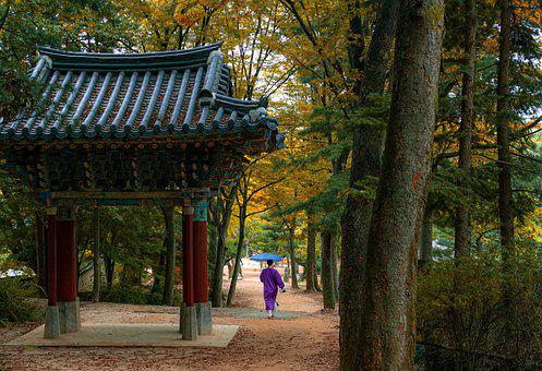 South Korea, Minsokchon, Korea, Village, Seoul
